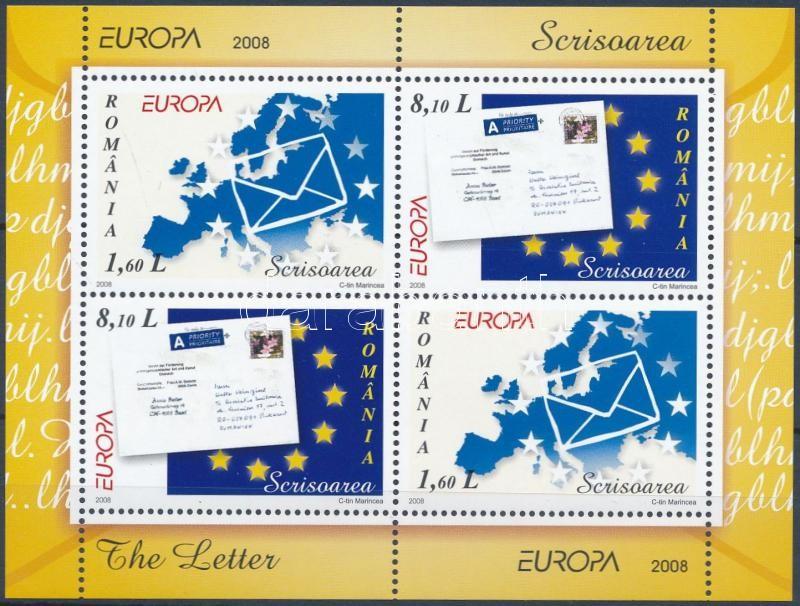 Europa CEPT: Letter block, Europa CEPT: Levél blokk