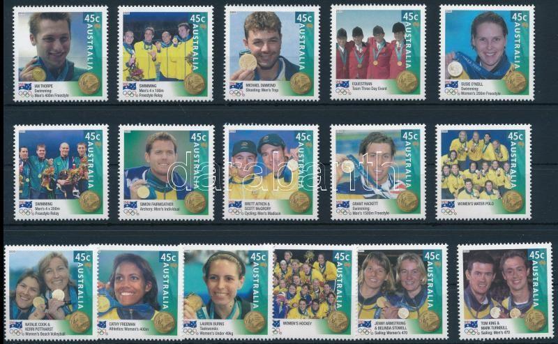 Summer Olympic games set, Nyári olimpia sor