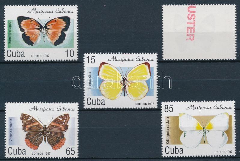 Butterfly set SAMPLE, Lepkék sor  MINTA