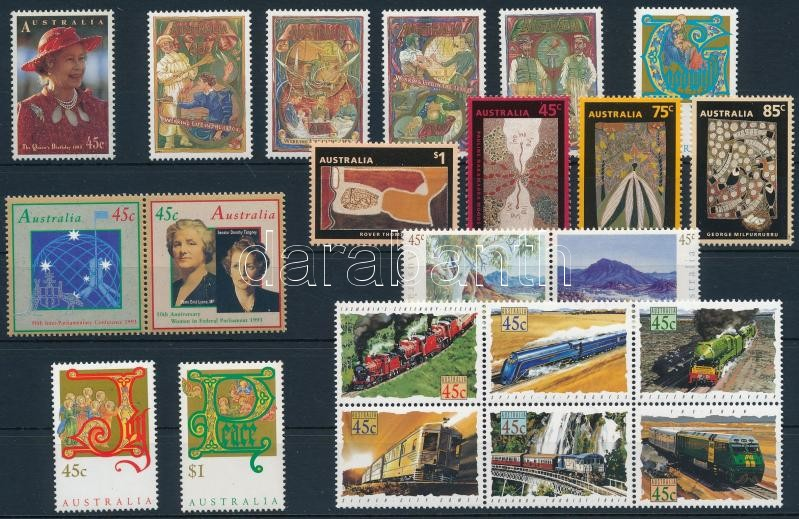 22 klf bélyeg, 22 stamps