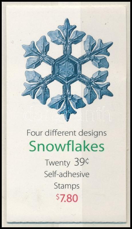 Christmas self-adhesive stamp-booklet, Karácsonyi öntapadós bélyegfüzet