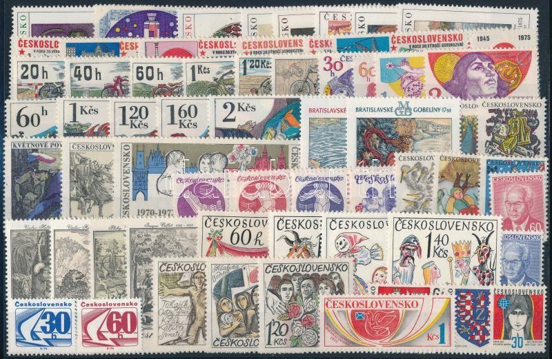 61 stamps, 61 klf  bélyeg, csaknem a teljes évfolyam kiadásai
