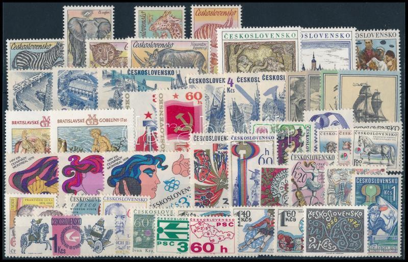49 stamps, 49 klf  bélyeg, csaknem a teljes évfolyam kiadásai