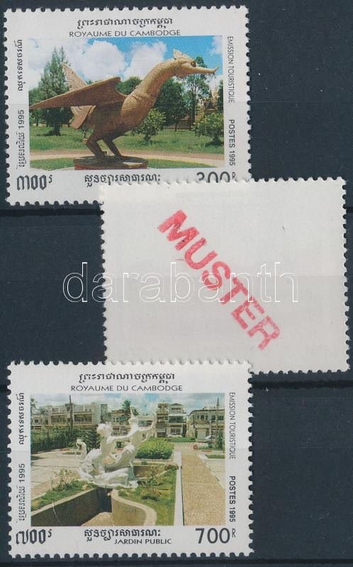 Tourism set SAMPLE, Turizmus sor MINTA