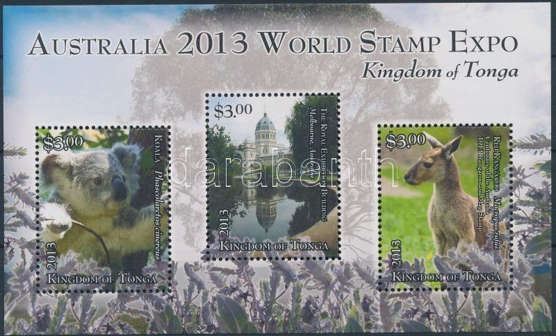 International Stamp Exhibition Australia 2013, Melbourne block, Nemzetközi bélyegkiállítás AUSTRALIA 2013, Melbourne blokk