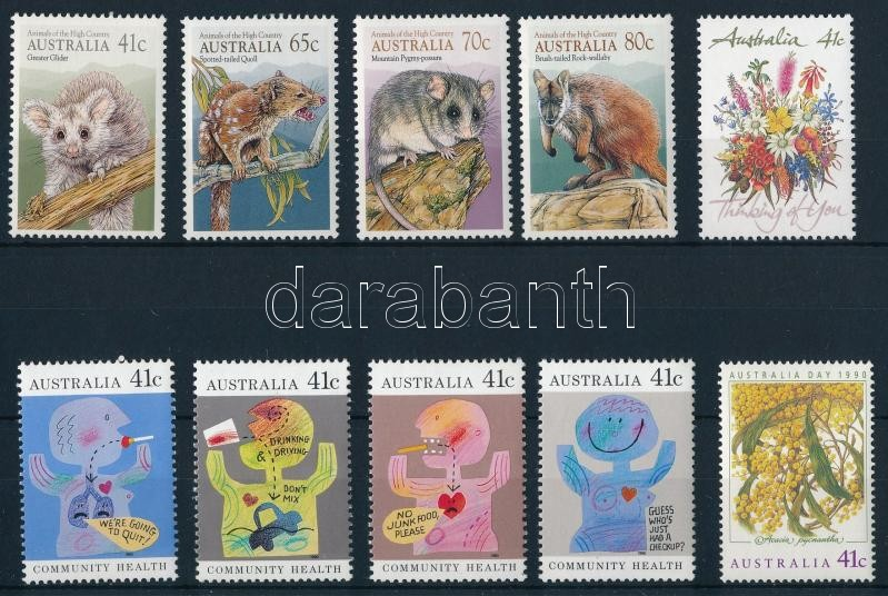 39 stamps, 39 klf bélyeg