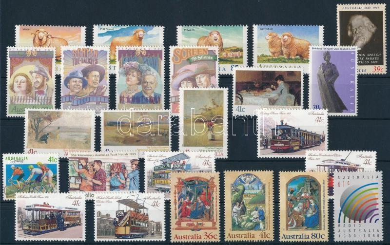 25 klf bélyeg és 1 bélyegfüzet, 25 stamps + 1 stamp-booklet