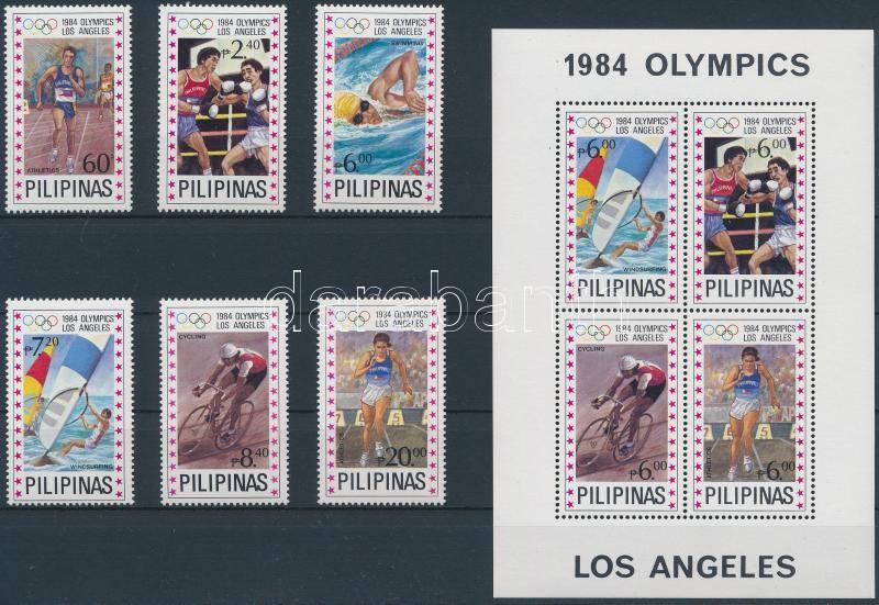 Summer Olympics: Los Angeles set + block, Nyári olimpia: Los Angeles sor + blokk