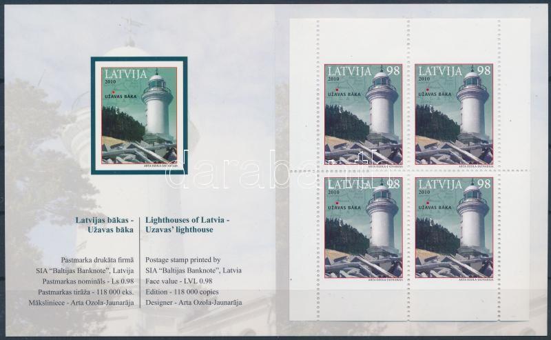 Lighthouse stamp-booklet, Világítótorony bélyegfüzet