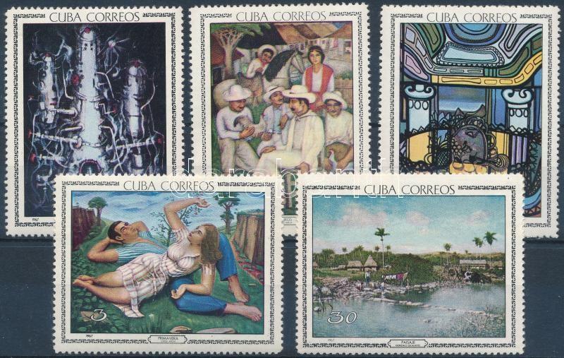 Art pieces from the National Museum of Havana (3rd) set, A havannai nemzeti múzeum műalkotásai (III) sor