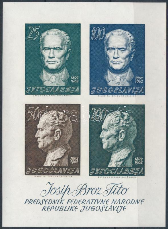 Josip Broz Tito block, Josip Broz Tito blokk