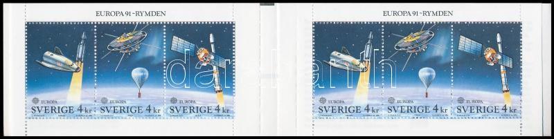 Europa CEPT Space research stamp booklet, Europa CEPT, Űrkutatás bélyegfüzet