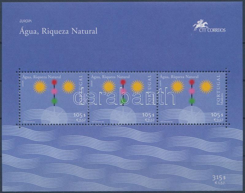 Europa CEPT: Invigorating Water block, Europa CEPT: Éltető víz blokk