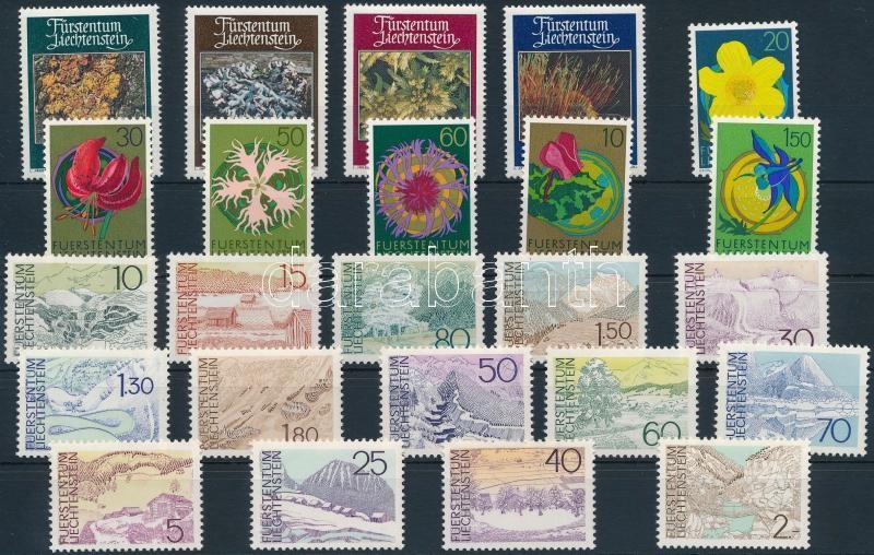 24 stamps and sets, 24 db klf bélyeg, közte sorok