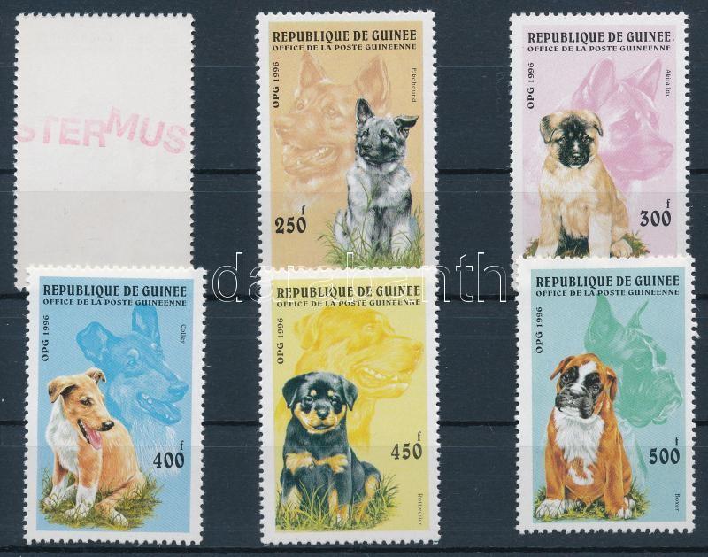Dog set SAMPLE, Kutyák sor MINTA