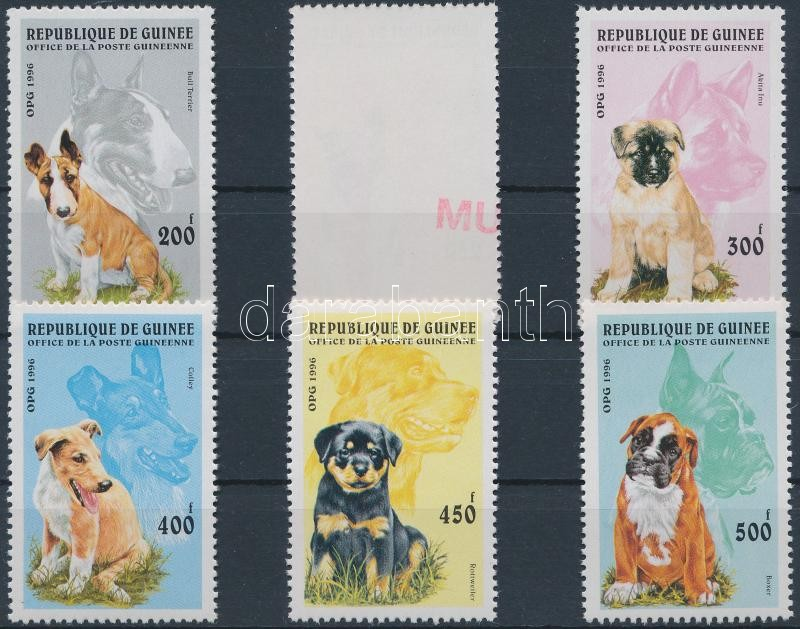 Dogs set SAMPLE, Kutyák sor  MINTA