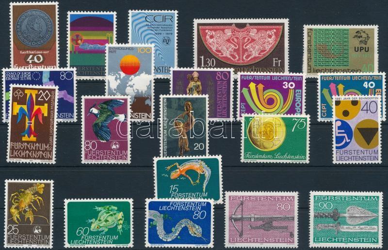 21 stamps, 21 klf bélyeg