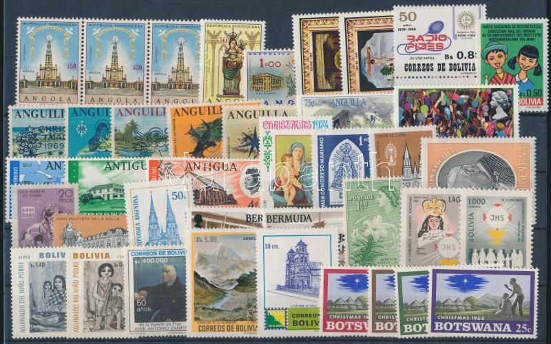 1953-1991 8 diff sets + 16 diff stamps, 1953-1991 8 klf sor + 16 klf önálló érték
