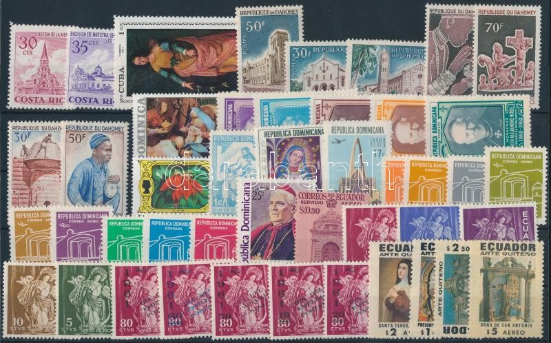 1962-1988 12 diff stamps + 7 diff sets, 1962-1988 12 klf önálló érték + 7 klf sor
