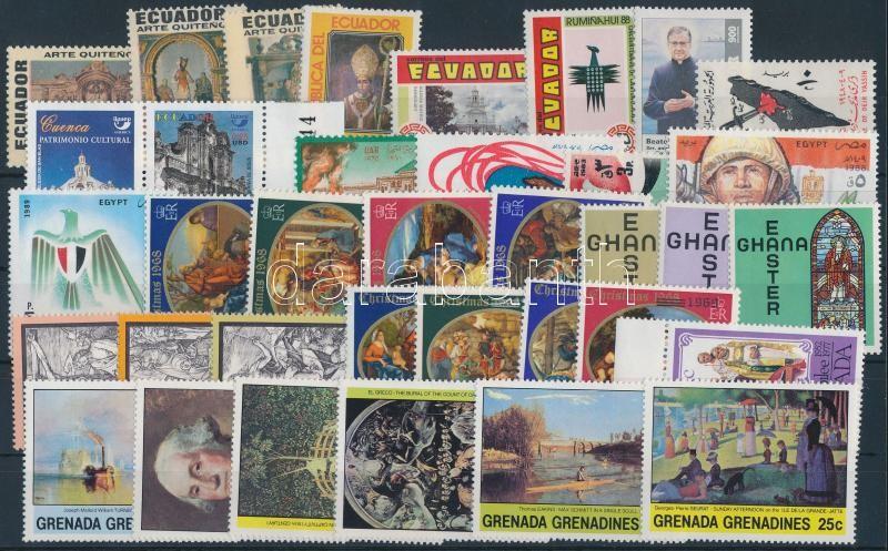 1965-2002 5 diff sets + 16 diff stamps, 1965-2002 5 klf sor + 16 klf önálló érték