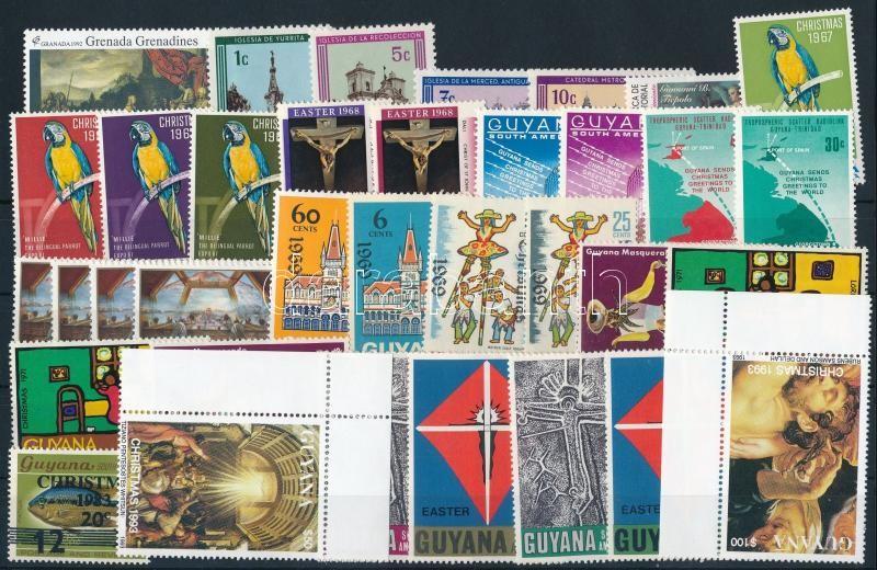 1971-1996 7 diff sets + 9 diff stamps, 1971-1996 7 klf sor + 9 klf önálló érték