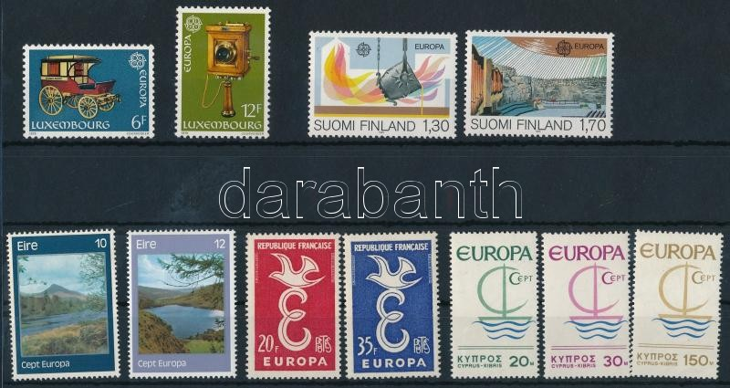 Europa CEPT 1958-1983 5 diff sets, Europa CEPT 1958-1983 5 klf sor