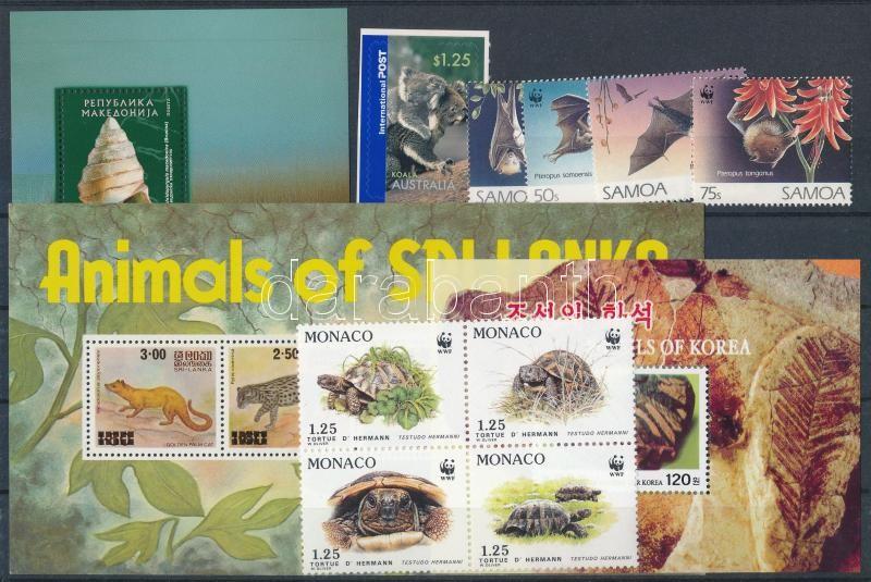 1981-2006 3 diff blocks + 2 diff sets + 1 diff stamp, 1981-2006 3 klf blokk + 2 klf sor + 1 klf önálló érték