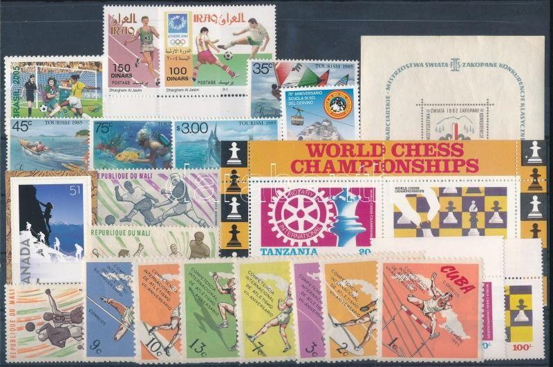 1962-2006 5 diff sets + 2 diff blocks + 3 diff stamps, 1962-2006 5 klf sor + 2 klf blokk + 3 klf önálló érték