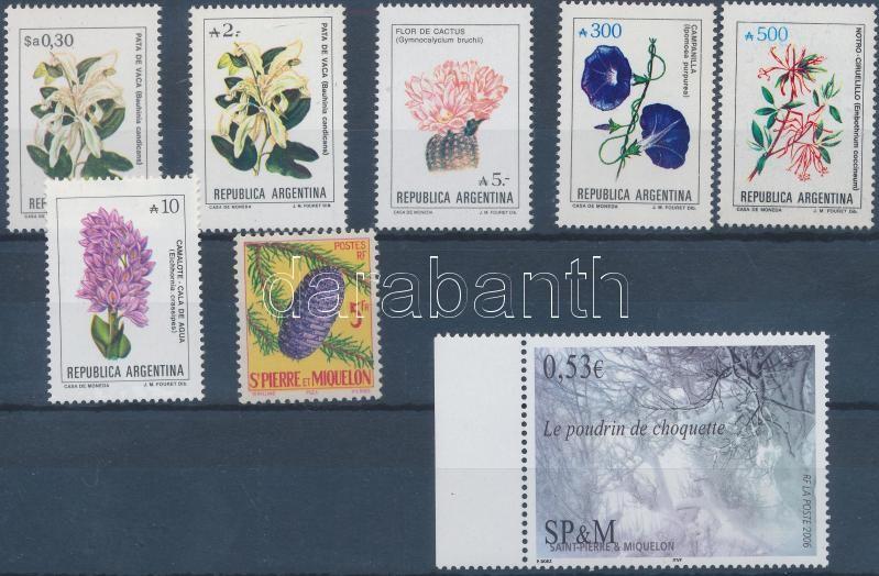 1984-2006 8 diff stamps, 1984-2006 8 klf önálló érték