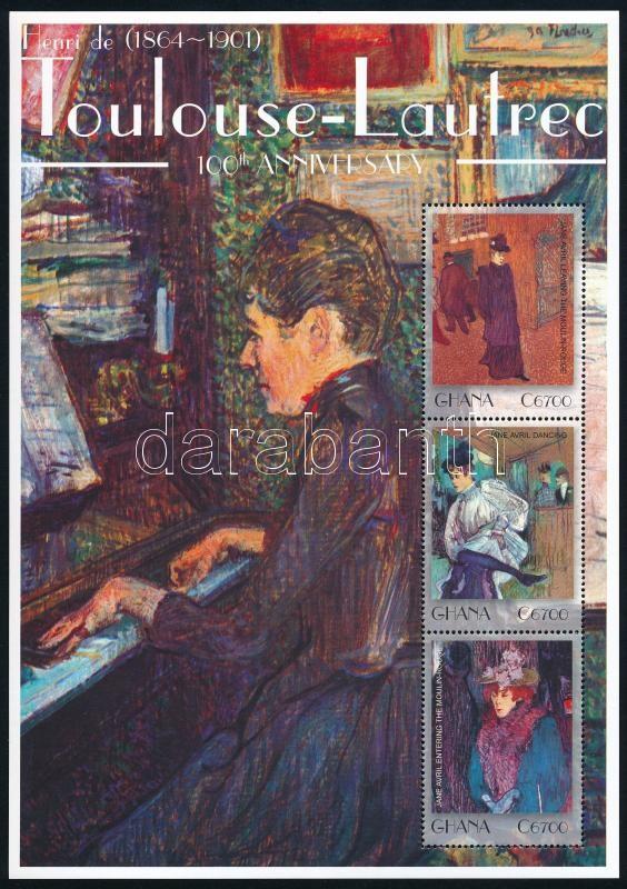 Toulouse-Lautrec minisheet, Toulouse-Lautrec kisív