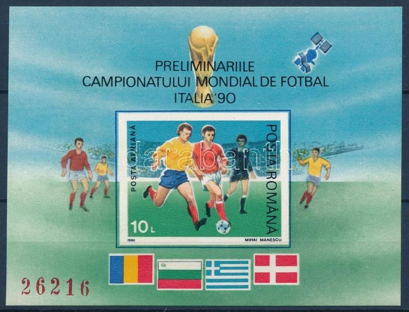 Football World Cup, Italy (I.) block, Labdarúgó VB, Olaszország (I.) blokk