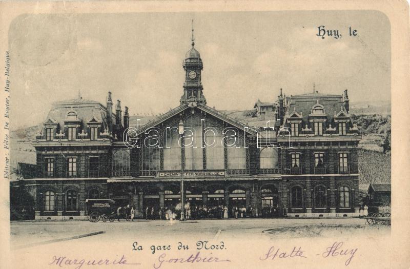 Huy, La Gare du Nord / railway station