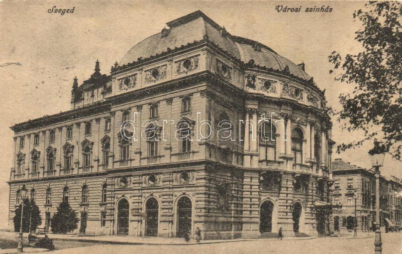 Szeged, Városi színház (szakadás / tear)