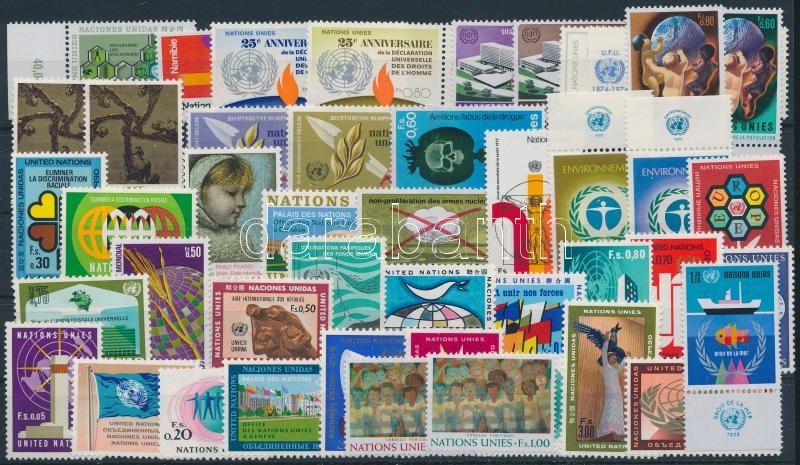 1969-1974 41 stamps almost the complete year, 1969-1974 41 klf bélyeg, a teljes hat évfolyam kiadásai