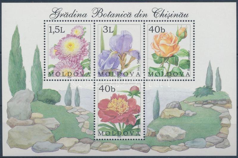 Botanic garden: Flowers block, Botanikus kert: Virágok blokk