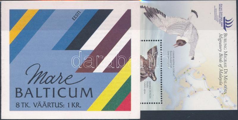 Animal: bird 1967-2005 3 sets + 1 block + 1 stamp-booklet, Állat: madár motívum 1967-2005 3 sor + 1 blokk + 1 bélyegfüzet
