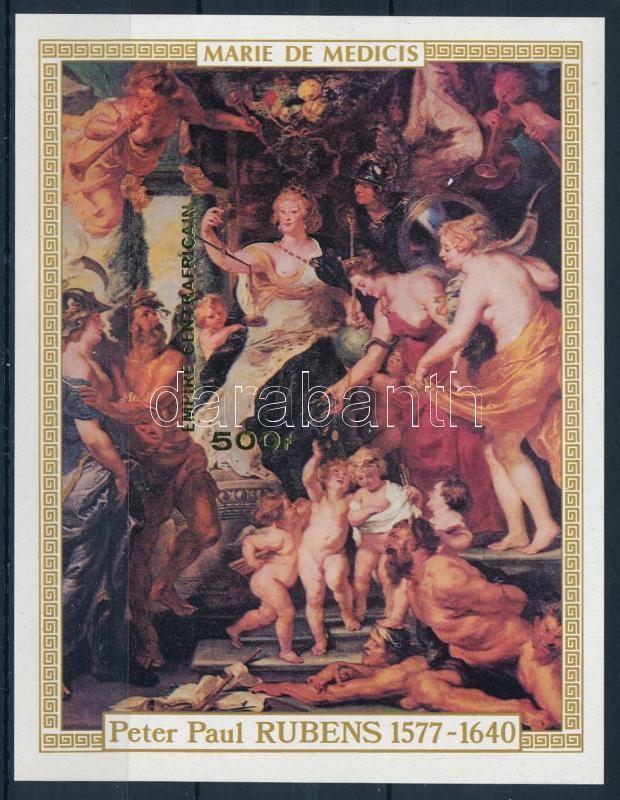 Rubens festmény vágott blokk, Rubens imperforated block