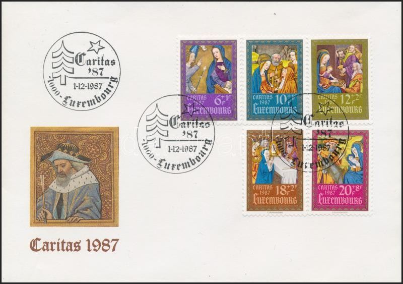 Caritas set on FDC, Caritas sor  FDC-n