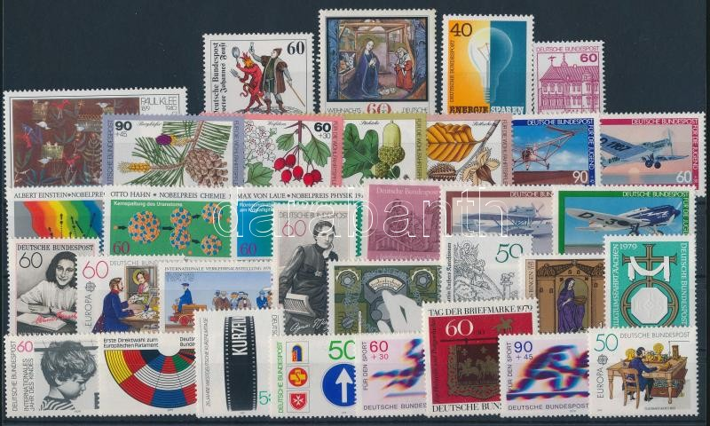 33 diff stamps, issues of the entire year, 33 klf bélyeg, a teljes évfolyam kiadásai