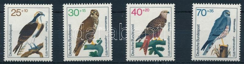 Raptorial birds set, Ragadozó madarak sor
