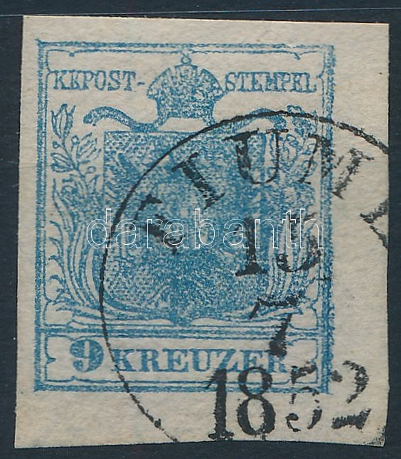 9kr HP II. corner piece, highlighted middle part