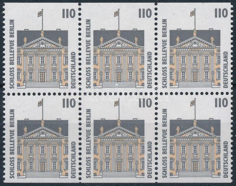 Definitive: attractions block of six, Forgalmi: látnivalók hatostömb