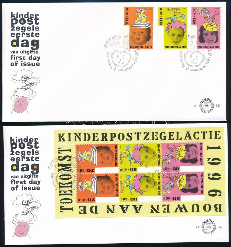 Building the future set + block on 2 FDCs, A jövő alakítása sor + blokk 2 FDC-n