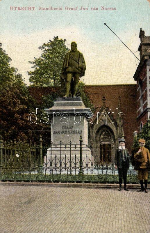 Utrecht, Standbeeld Graaf Jan van Nassau / statue
