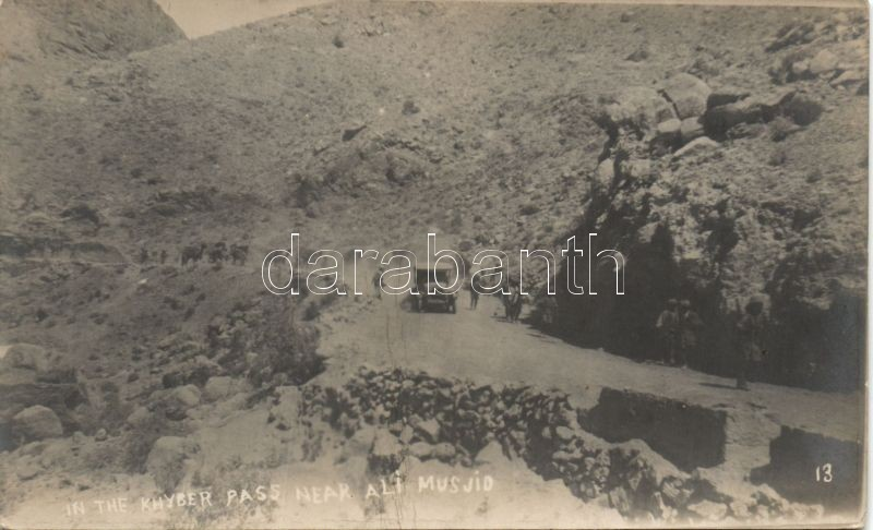 Khyber Pass, Ali Masjid, camels, truck