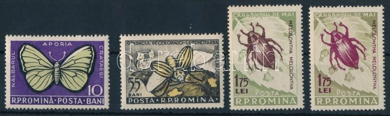 Harmful insects set, Ártalmas rovarok sor