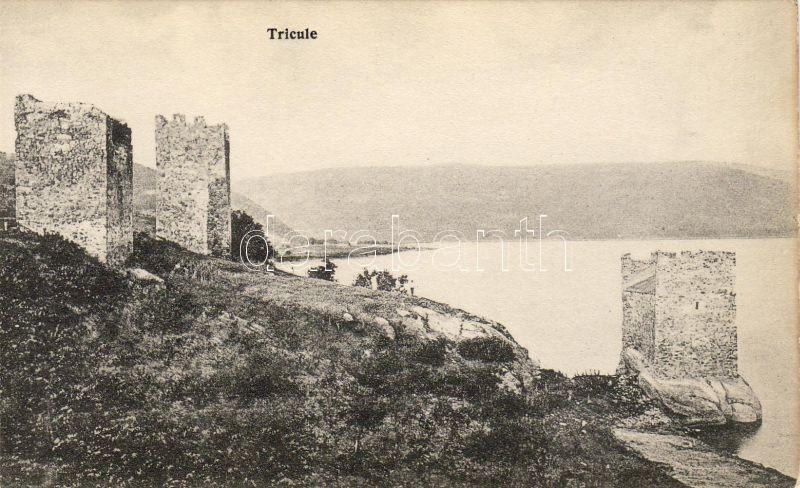 Orsova, Tricule / towers, Orsova, Tricule tornyok