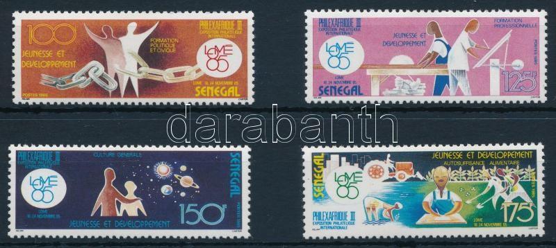Stamp exhibition set, Bélyegkiállítás sor