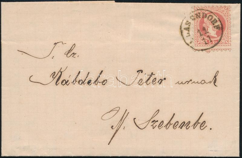 5kr with strongly shifted perforation on cover
