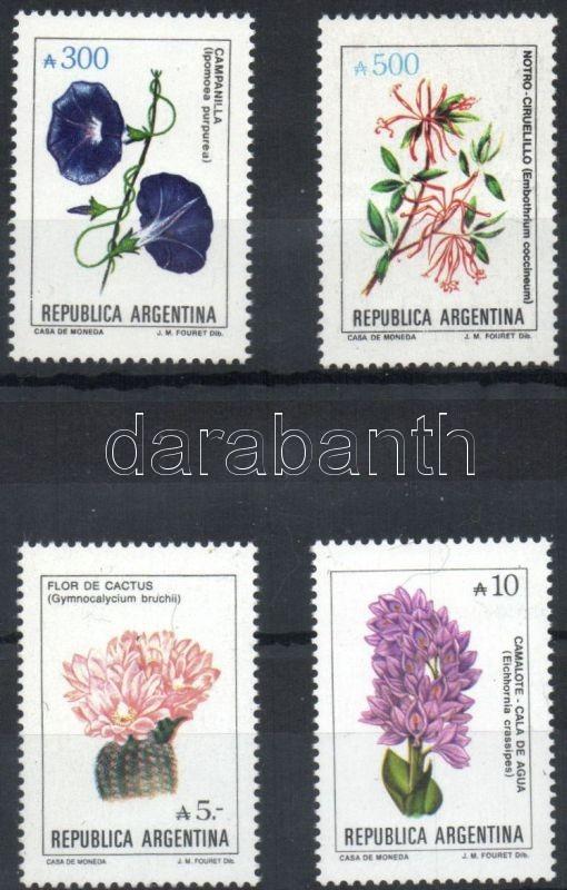 Flowers stamps, Virágok bélyegek, Blumen